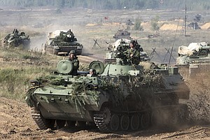 NATO Nervous As Russia, Belarus Team Up For Cold-War-Style War Games