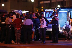 Protests In St. Louis Continue After A Weekend That Saw D...