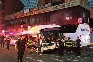 3 People Killed, More Than A Dozen Injured In 2-Bus Crash In New York City