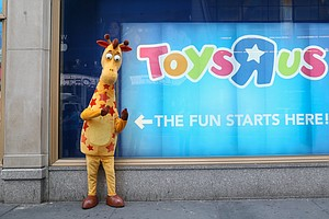 Ahead Of The Holiday Season, Toys R Us Files For Bankrupt...