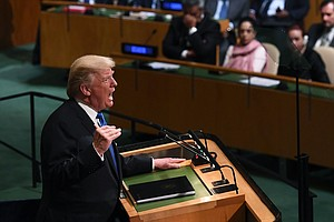Trump to U.N.: North Korea's 'Rocket Man' Kim Jong Un On A Suicide Mission