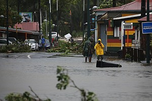 'Potentially Catastrophic' Hurricane Maria Devastates Dominica, Heads For Pue...