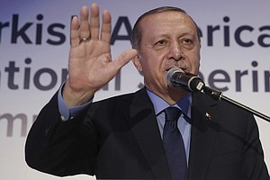 Erdogan Speech Triggers Physical Confrontations At Turkis...