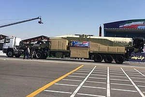 Iran Shows Off New Ballistic Missile At Military Parade