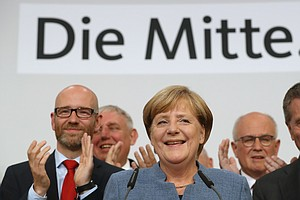 Angela Merkel Wins Mandate For 4th Term Despite Diluted S...