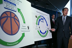 4 College Basketball Coaches Arrested In Bribery Case; Ad...