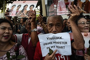 Thai Supreme Court Sentences Former Prime Minister To 5 Y...