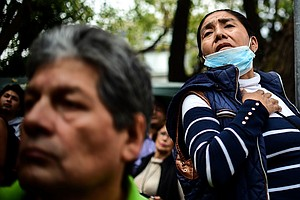 Some Survivors Of Mexico's Quake Wonder: When Can We Go Home?