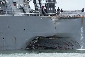 After String Of Collisions, Navy Will Broadcast Ship Coor...