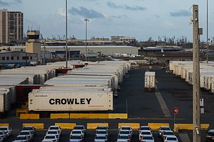 In Puerto Rico, Containers Full Of Goods Sit Undistributed At Ports