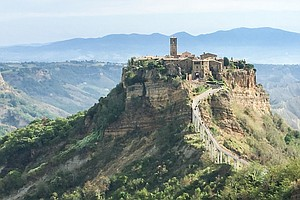 In Italy, A Medieval Town Confronts A Double Threat — Erosion And Too Many To...