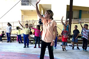 For Puerto Rico's Children, Finding A 'Safe Place' In The Few Schools That Ar...