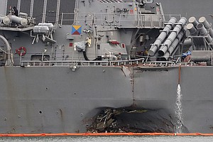 Top Navy Officers Fired In Ongoing Leadership Shake-Up After Deadly Collisions