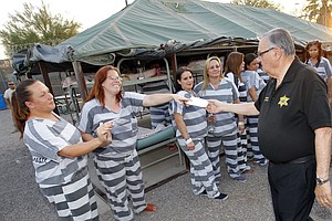 Sheriff Joe Arpaio's Infamous 'Tent City Jail' Closes