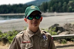 This Boy Scout Welcomes Girls To His Troop