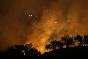 In Northern California, Exhausted Firefighters Push Thems...