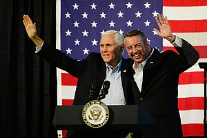 Vice Presidents Enter Fray In Final Weeks Of Virginia's G...