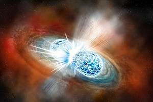 Astronomers Strike Gravitational Gold In Colliding Neutron Stars