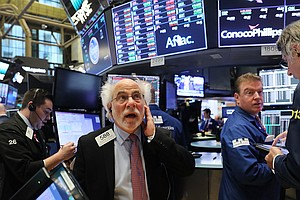 Dow Crosses Another Milestone, Topping 23,000 For The Fir...
