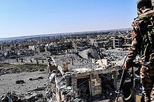 ISIS Makes Last Stand At A Stadium In Raqqa, Its Doomed '...