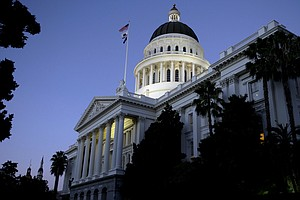 Photo for As Virus Surges, California Lawmakers Gather To Start Work
