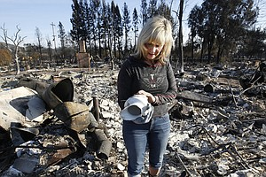 A Third Of California's Fire Evacuees Still Waiting To Go...