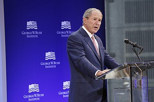 George W. Bush Slams 'Bigotry,' Politics Of Populism That...