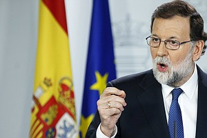 Spanish Prime Minister Takes Unprecedented Step To Dissolve Catalan Government