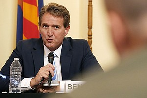 Arizona Sen. Jeff Flake, A Trump Critic, Will Not Seek Re-Election