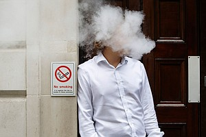 New York Bans Vaping Indoors In Public: State Law Classes...