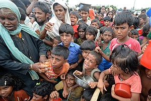 Amid Rohingya Crisis, White House Mulls Sanctions On Myan...