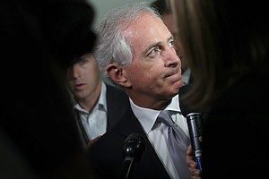 Ahead of Trump's Tax Mission To Capitol Hill, Feud With Corker Explodes