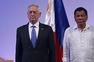 With Mattis Trip To Philippines, Reminders Of Waning U.S. Influence In Region