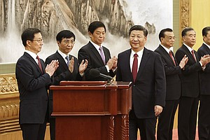 Among China's New Leaders, The One Person Missing Is A Cl...