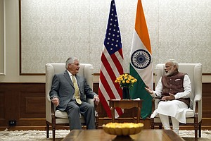 Tillerson Visit Highlights India's Evolving Relationship With U.S.