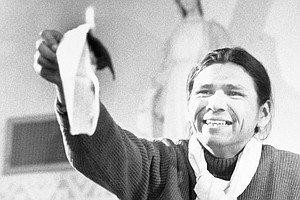 Dennis Banks, Native American Activist And Wounded Knee O...