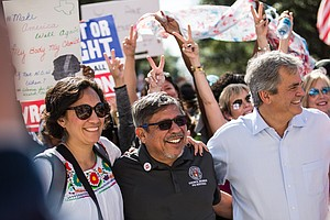 Facing Discrimination In Public Life, Latinos Stay Positi...