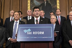 Tax Bill Delayed As GOP Divisions On Eliminating Tax Breaks Persist