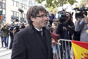 Ousted Catalan Leader Won't Appear In Madrid Court To Fac...