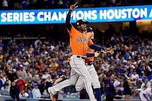 Houston Astros Are World Series Champions, Beating Los Angeles Dodgers