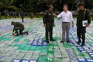 Colombia Reports A Historic Seizure Of Cocaine: More Than...