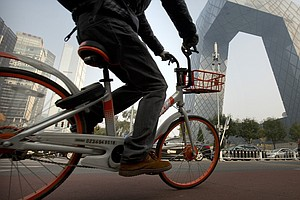 The Startup That's Helping Bring Bikes Back To China's St...