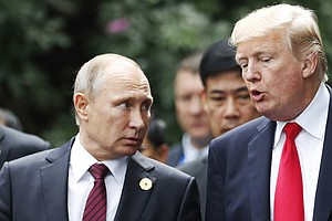 Trump: Putin Again Denied Interfering In Election And 'I ...
