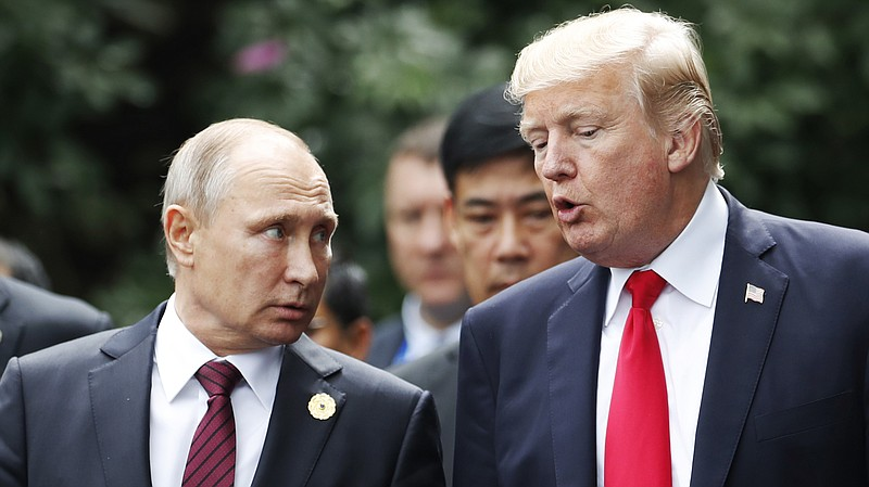 Trump: Putin Again Denied Interfering In Election And 'I Really
