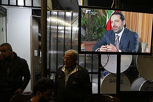 Lebanon's Prime Minister Says He May Rescind Resignation,...