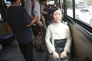 'Comfort Woman' Memorial Statues, A Thorn In Japan's Side...