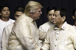 Human Rights Barely Registers In Meeting Between Trump, Philippines' Duterte