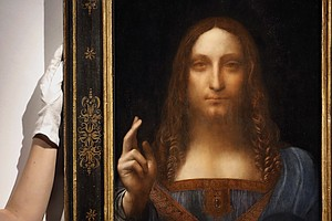 Leonardo Da Vinci Portrait Of Christ Sells For Record-Sha...