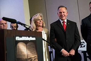 White House Says Moore Allegations 'Very Troubling,' But Alabama Voters Shoul...