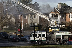 20 Injured As Massive Fire Tears Through Senior Living Ce...